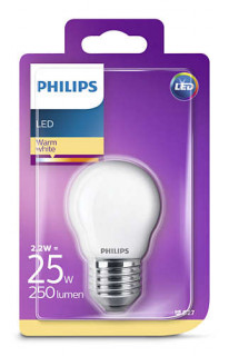 PHILIPS Consumer LEDCLassic luster 2.2-25W P45 E27 827 FR ND RF Otthon