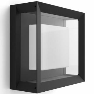 Philips Econic Hue wall lantern black 17438/30/P7 Otthon