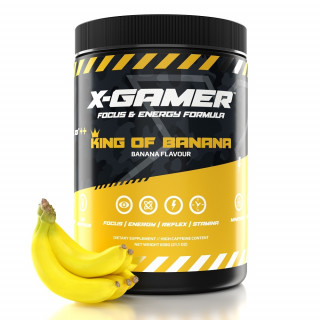 X-Gamer King of Banana Energia ital 600g PC