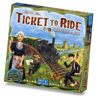 Ticket to Ride Map Collection 4: Nederlands Ajándéktárgyak
