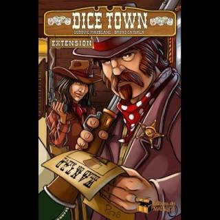 Dice Town: Wild West kiegészítő Ajándéktárgyak