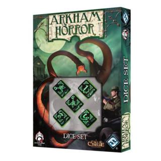 Arkham Horror Dice Set - Black/Green Ajándéktárgyak