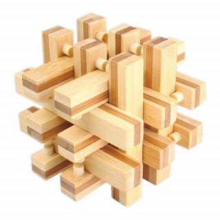 Logikai bezárt rudak- nagy,bambusz Ajándéktárgyak