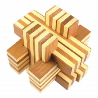 Logikai kereszteződés (nagy, bambusz) AJÁNDÉKTÁRGY