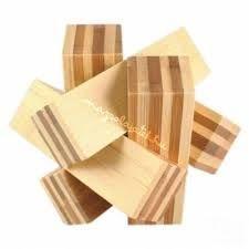 Logikai gubanc (nagy, bambusz) Ajándéktárgyak