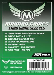 Mayday kártyavédő (sleeve) - 63,5*88 mm (100 db/csomag) Ajándéktárgyak