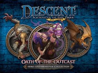 Descent 2nd Edition - Oath of the Outcast kiegészítő Ajándéktárgyak
