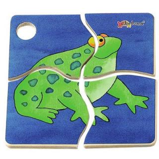 Frog - puzzle Ajándéktárgyak