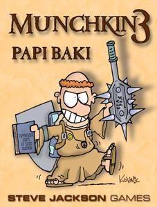 Munchkin 3 - Papi Baki Ajándéktárgyak