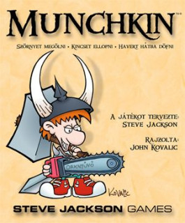 Munchkin alapjáték AJÁNDÉKTÁRGY