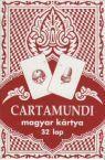 Magyar kártya klasszikus, piros 32 lapos Ajándéktárgyak