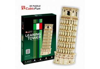 3D-puzzle Pisa Tower 13db-os Ajándéktárgyak