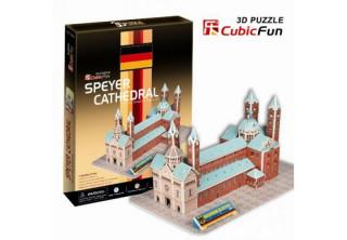3D-puzzle Speyer Cathedral 41 db-os Ajándéktárgyak