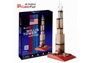 3D puzzle - Sears Tower 51db-os Ajándéktárgyak