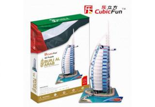 3D puzzle Burjal-Arab 101 db-os Ajándéktárgyak