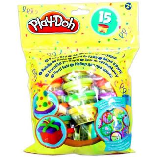 Play-Doh party tasak 15 tégelyes utántöltő készlet Ajándéktárgyak