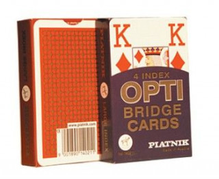 Opti bridzs kártya, 55 lapos - 140211 Ajándéktárgyak