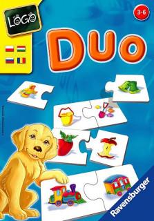 Ravensburger Logo Duo párkereső játék AJÁNDÉKTÁRGY