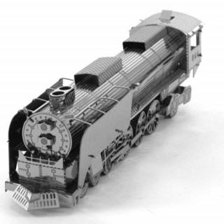 Metal Earth - UP 844 Gőzmozdony- 3D fémépítő Ajándéktárgyak