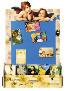 Művész hűtőmágnes - Nagy festők képei Ajándéktárgyak