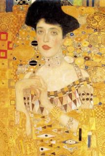 Mini művész puzzle 0513 - Gustav Klimt Ajándéktárgyak