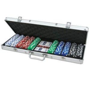 Póker zseton készlet, Dice 500db - 620945 AJÁNDÉKTÁRGY