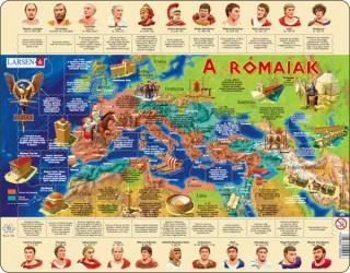 Larsen maxi puzzle 110 db-os A rómaiak (magyar nyelvű) HL4 Ajándéktárgyak