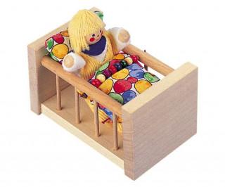 Gitterbett Puppenhauszubehör Ajándéktárgyak