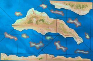 Sails of Glory: Terrain Pack - Coasts and Shoals Ajándéktárgyak