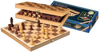 672708 Összecsukható sakk készlet 30*15 cm Ajándéktárgyak