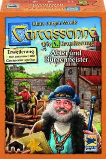 Carcassonne 5.kiegészítő-Apátság és polgármester Ajándéktárgyak
