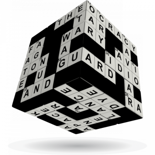V-Cube 3x3 versenykocka, Keresztrejtvény Ajándéktárgyak