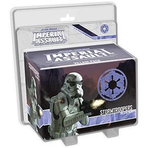 Star Wars: Imperial Assault - Stormtroopers Villain Pack Ajándéktárgyak