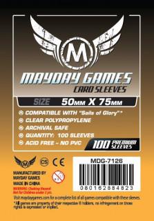 Mayday kártyavédő (sleeve) -50x75 mm (100 db/csomag) Ajándéktárgyak