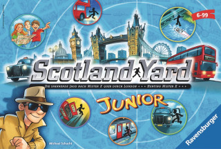Ravensburger Scotland Yard Junior Ajándéktárgyak