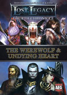 Lost Legacy: Fourth Chronicle - The Werewolf & Undying Heart Ajándéktárgyak