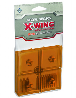 Star Wars X-Wing: Orange Bases and Pegs Ajándéktárgyak