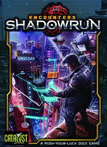 Shadowrun: Encounters Dice Game Ajándéktárgyak
