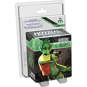 Star Wars: Imperial Assault - Greedo Ambitious Mercenary Ajándéktárgyak