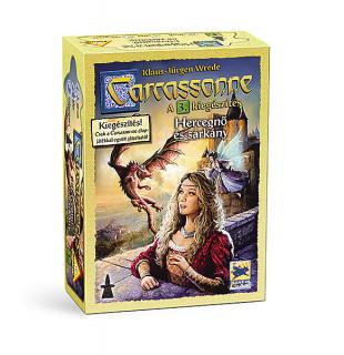 Carcassonne: 3. kiegészítés A hercegnő és a sárkány Ajándéktárgyak
