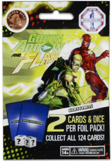 DC Comics Dice Masters: Green Arrow and The Flash booster Ajándéktárgyak