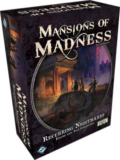 Mansions of Madness 2. kiadás - Recurring Nightmares kiegészítő Ajándéktárgyak