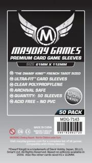 Mayday Magnum kártyavédő (sleeve) - 61*112 mm (100 db/csomag) Ajándéktárgyak