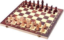 Unikatoy: Fa sakk készlet 34x34cm Ajándéktárgyak