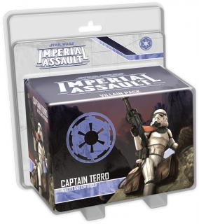 Star Wars: Imperial Assault - Captain Terro Villain Pack Ajándéktárgyak