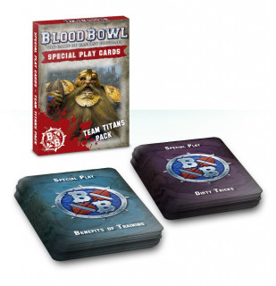 Blood Bowl Cards: Team Titans Pack Ajándéktárgyak