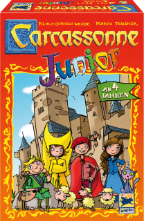 Carcassonne Junior - új kiadás Ajándéktárgyak