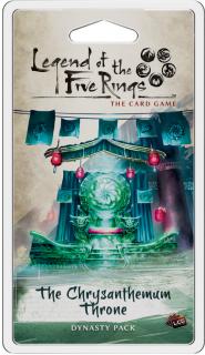 The Legend of the Five Rings LCG: Chrysanthemum Throne Dynasty Pack Ajándéktárgyak