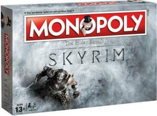 Monopoly Skyrim Ajándéktárgyak