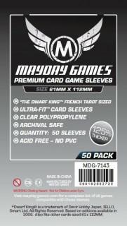 Mayday Magnum premium kártyavédő (sleeve) - 61*112 mm (50 db/csomag) Ajándéktárgyak